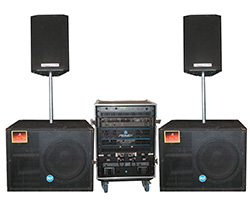 Systeme Son-RCF CP512 - 2500 Watts RMS