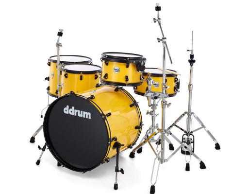 DDrum JR22 Journeyman Rambler Yellow