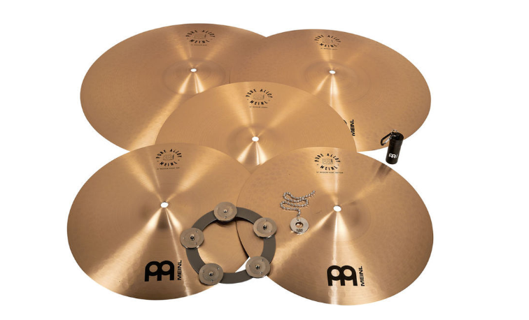 Meinl Pure Alloy Cymbal Set Smal