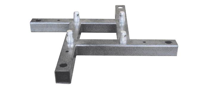 Global Truss F34BASEBE Base Plate Steel