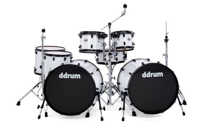 DDrum Journeyman Double Down Kit -WH