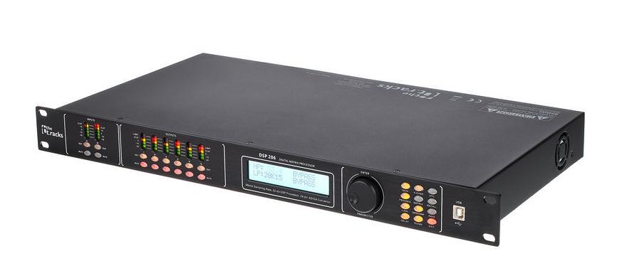 the t.racks DSP 206